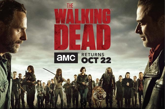 Season 7 of The Walking Dead -