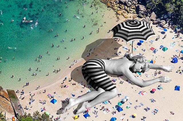[sally todd, old playboy] . . . #surfingusa #beachbums #beachhouse #dronephotography #playboy #fleamarketdreams #surfinglifestyle #collageart #beachday #handmadecollage #analogcollage #collageartwork #sallytodd #surfingiseverything #beaches #playboythailand #beachvibes #surfinglife #beachy #playmate