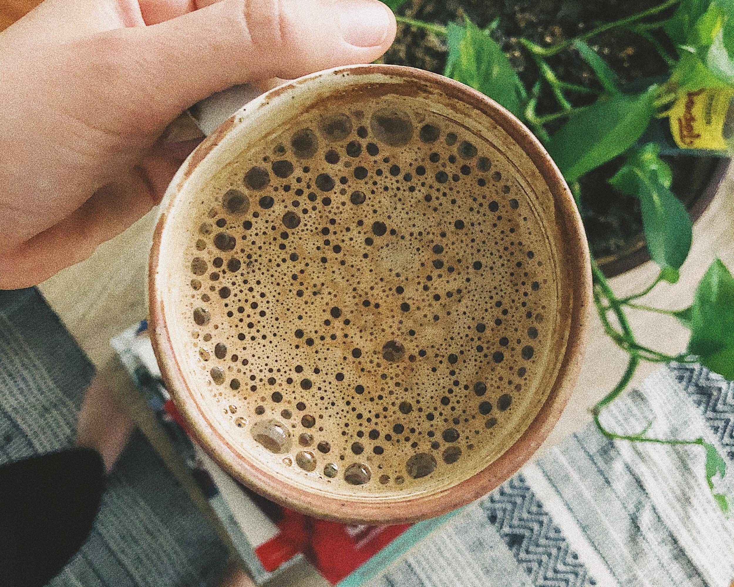 chocolate ghee mushroom coffee -