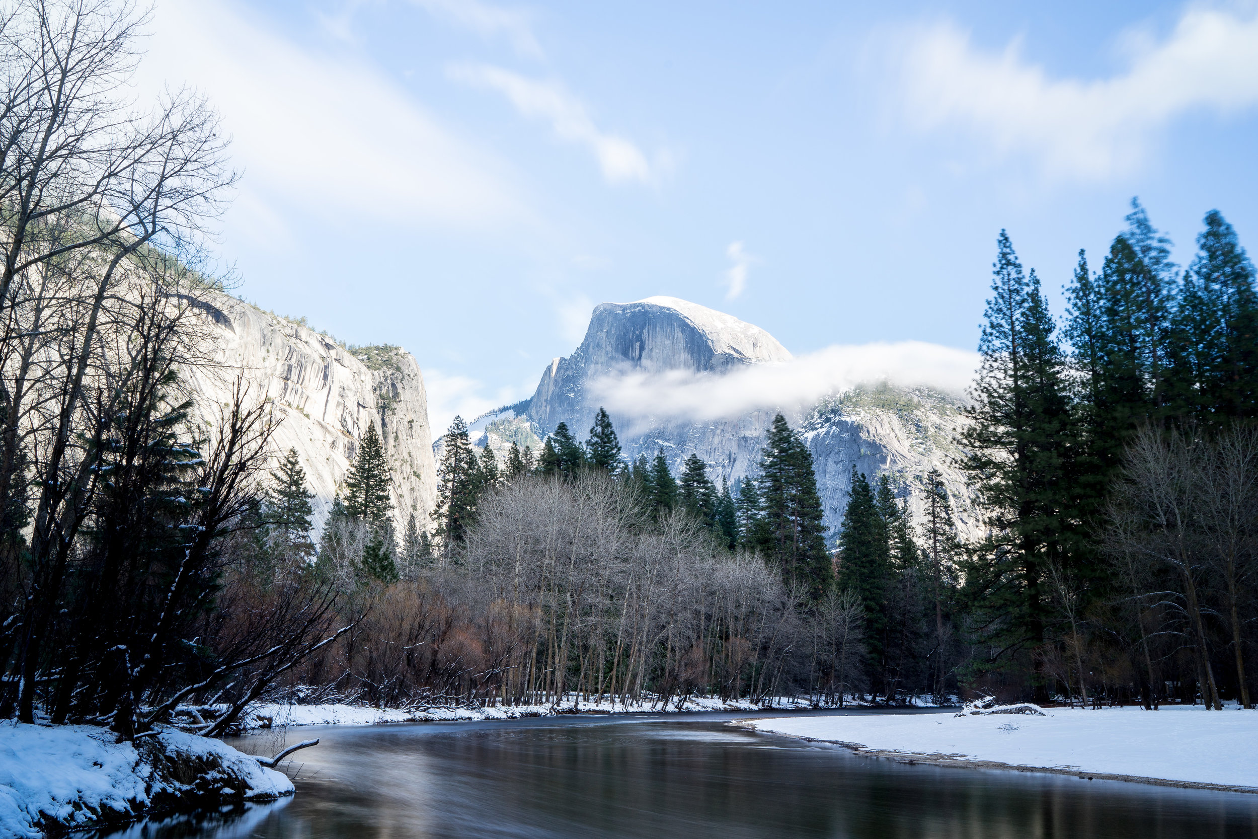 Half Dome Winter, Yosemite National Park