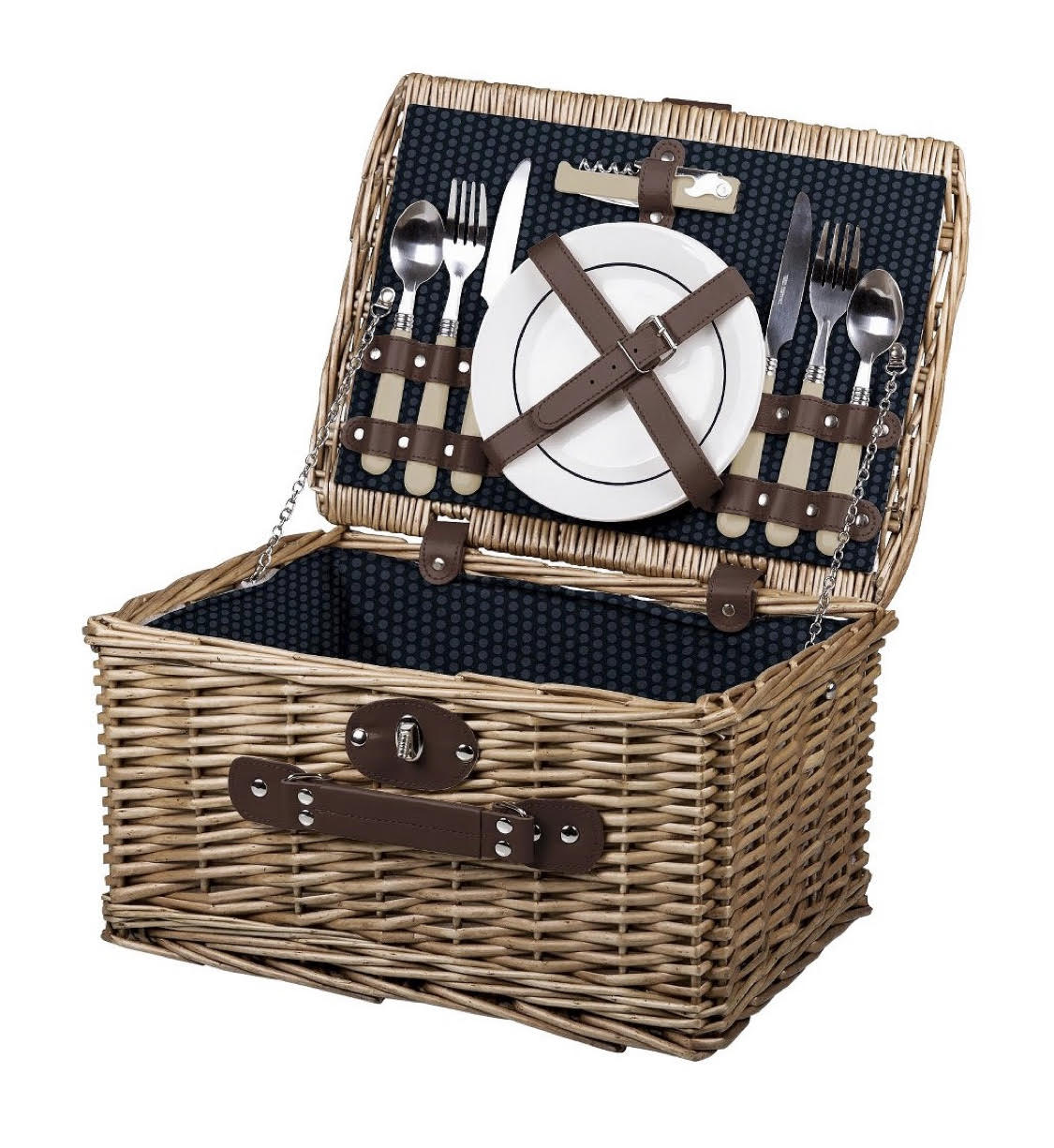ADD TO FAVORITES Picnic Time Catalina Wine and Cheese Basket - Dahlia Collection