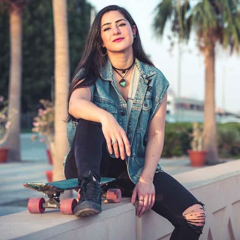 Hind Adib - Founder and Designer: Hind Adib Fashion