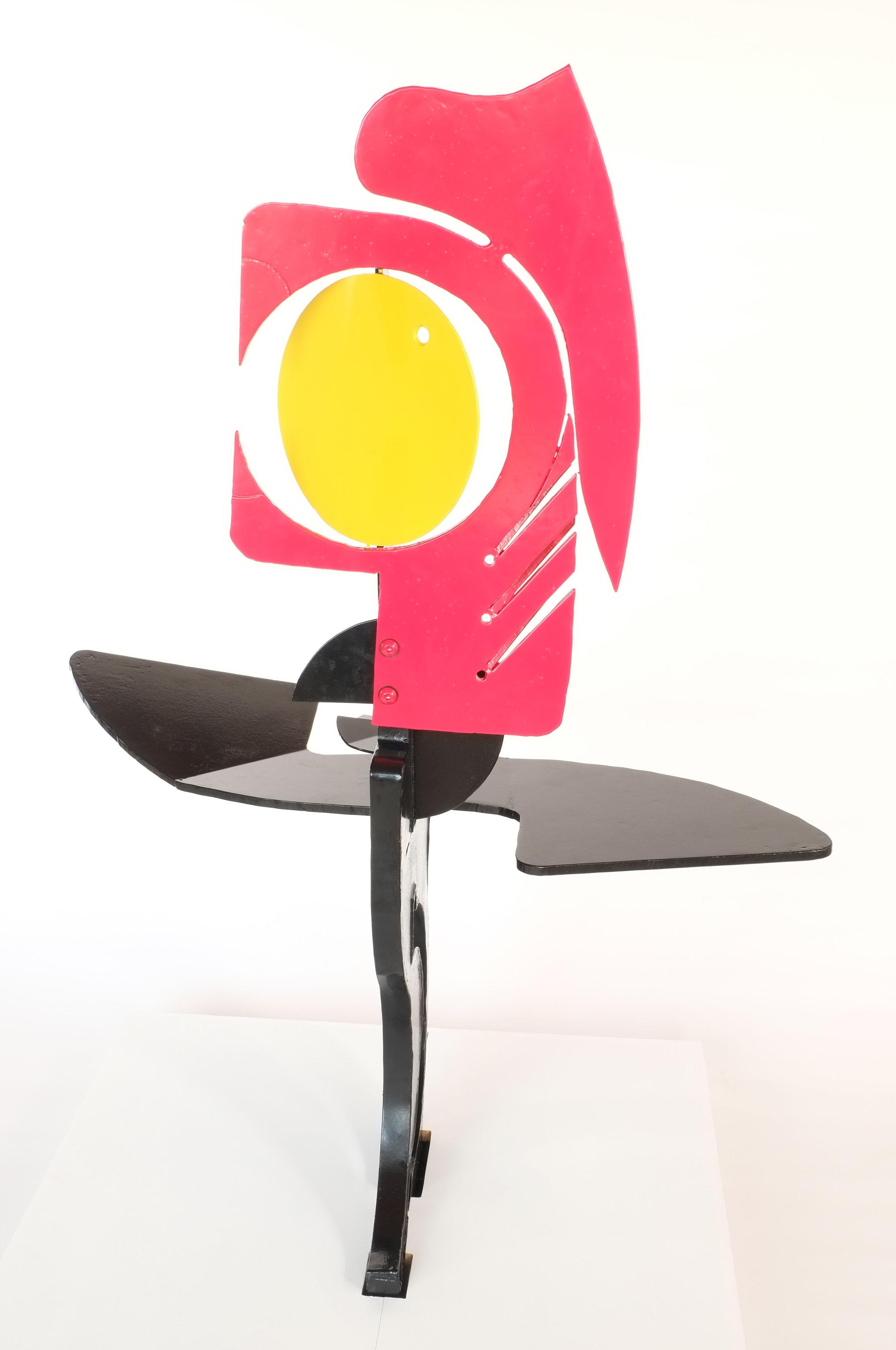 Cockerel   £1450  H: 130cm, W: 87, D: 51  Suitable for outdoors