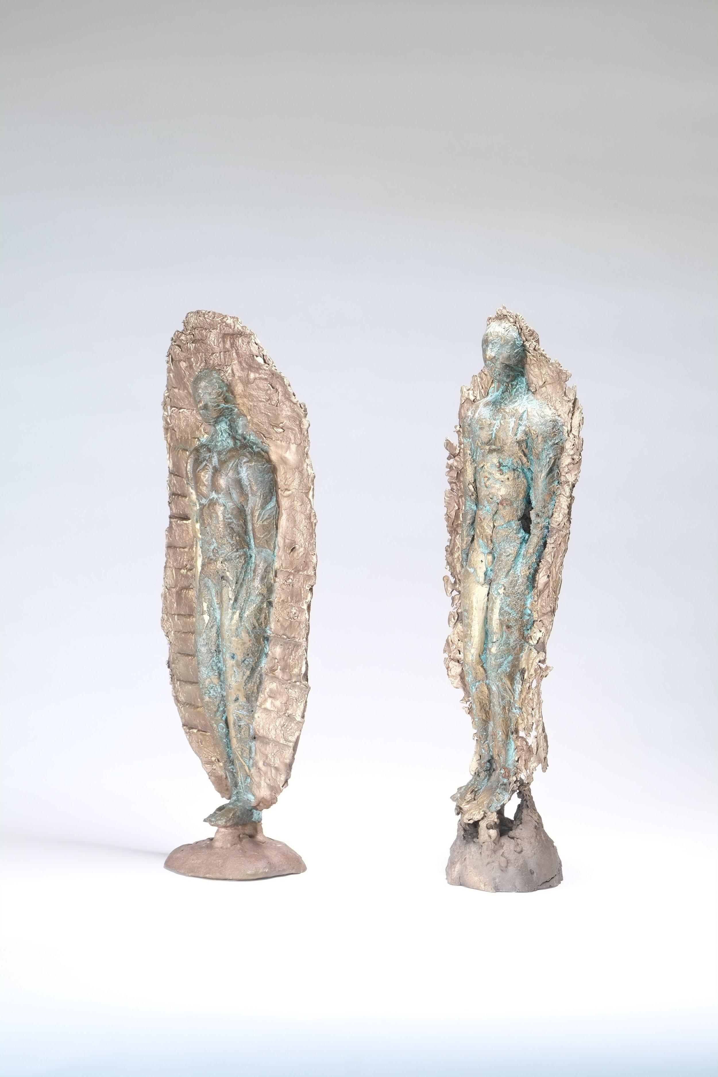 Bronze Men   £950 each  H: 35cm, W: 15, D: 8  Suitable for outdoors