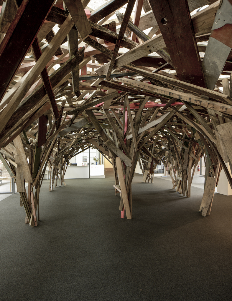 Gregor Kregar, Dream House Project, 2012. Photo by Sam Hartnett. Commissioned by Te Tuhi, Auckland.