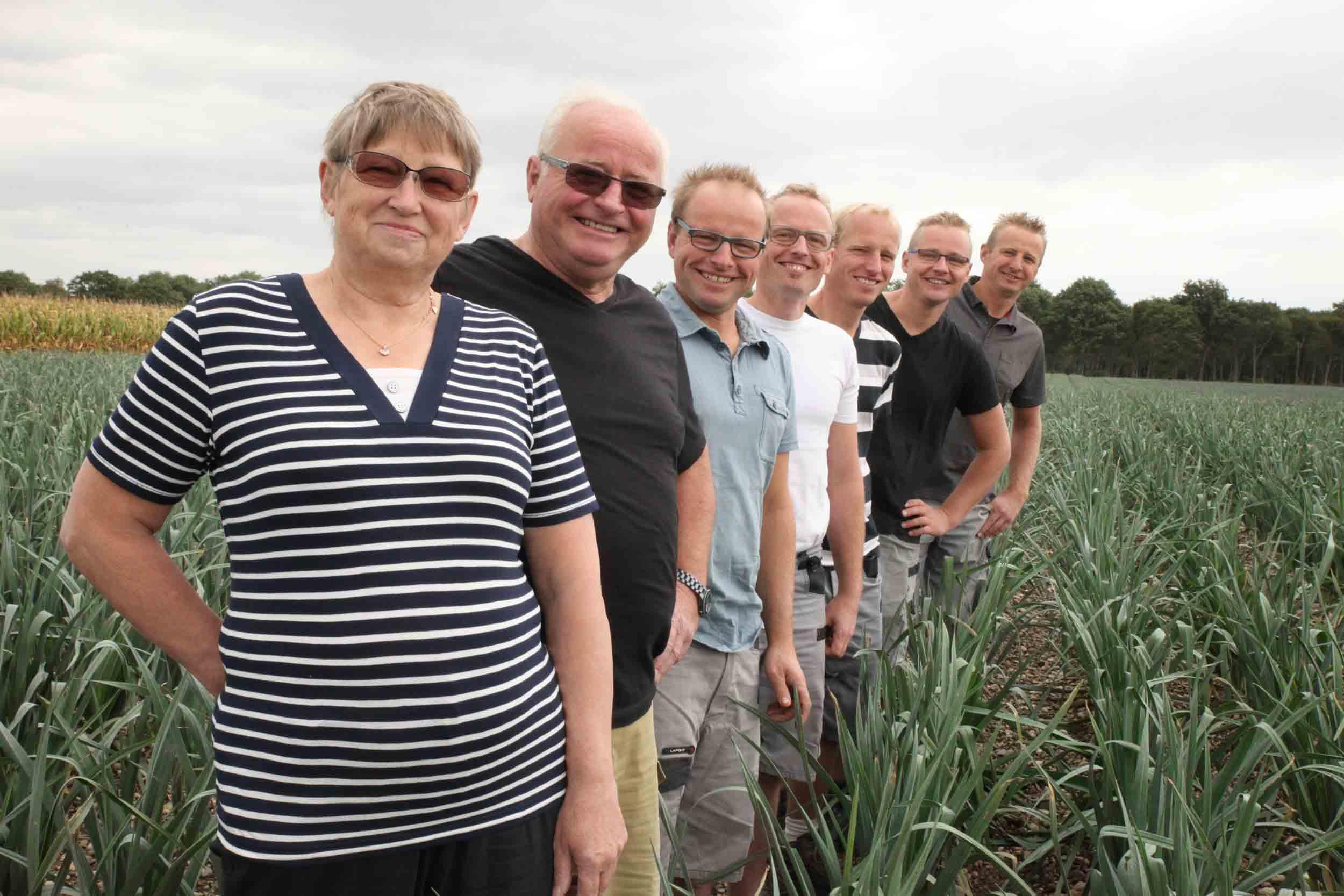 Famille Horrenberger, maraîcher -