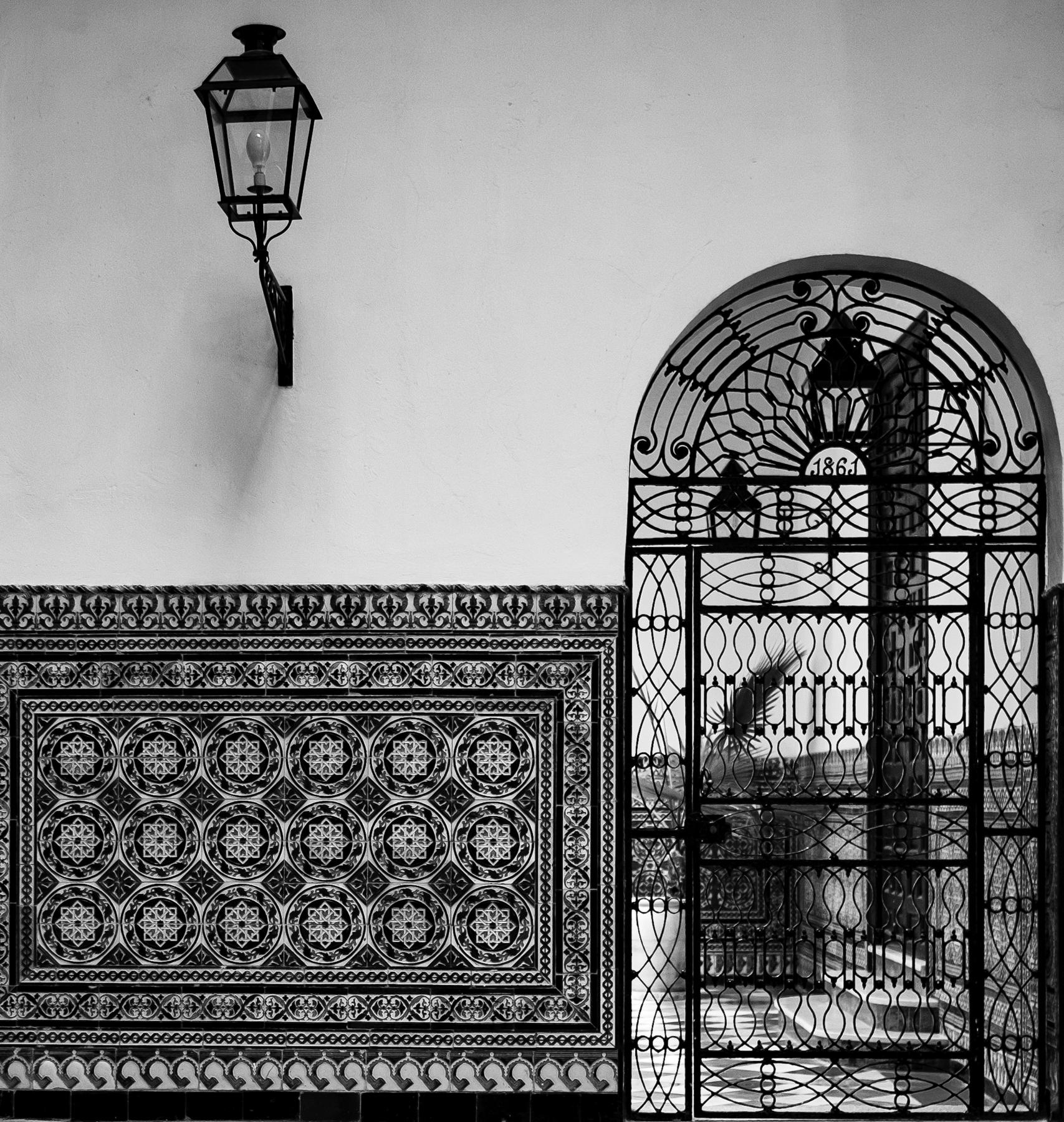 Gate, Hospital de los Venerables, Seville