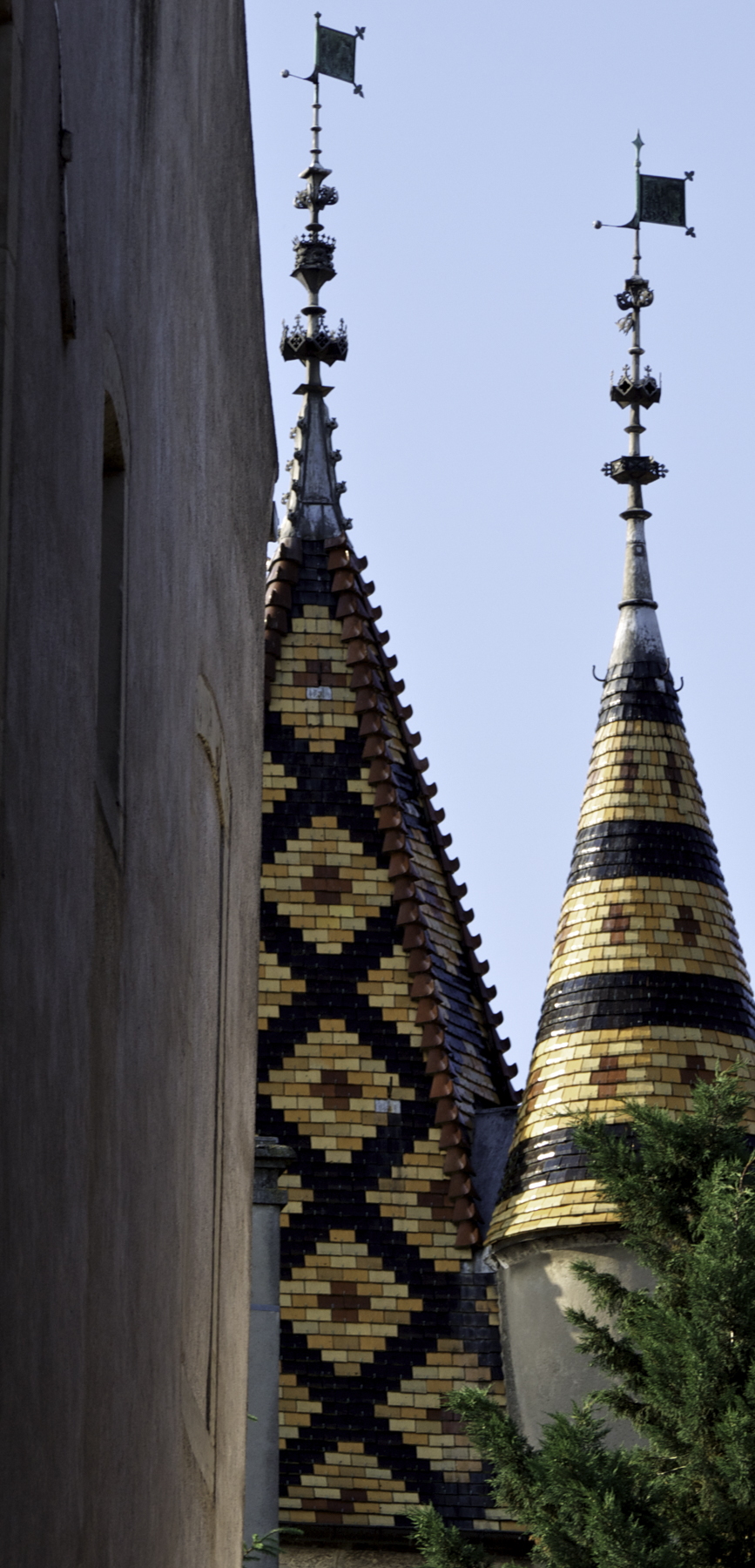 Roof Tiles, Beaune