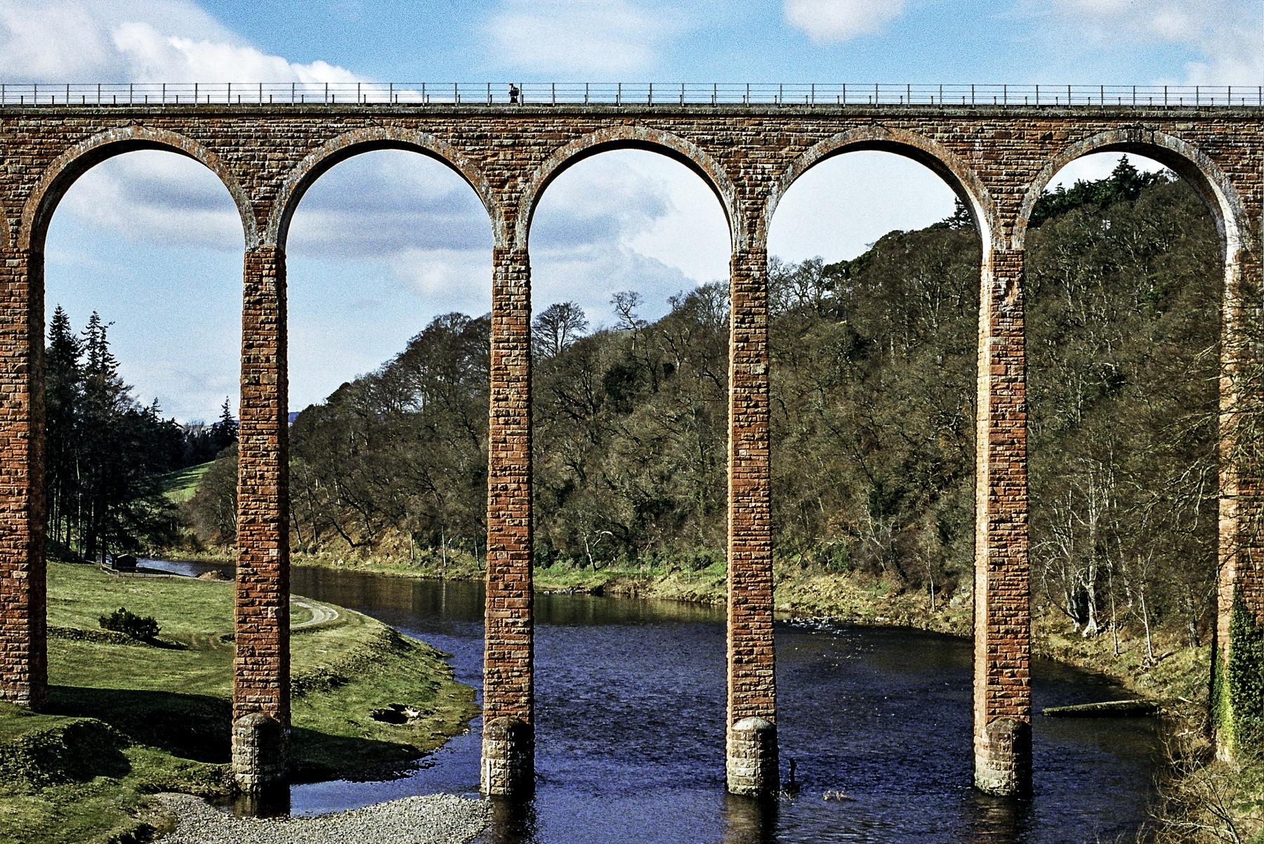 Leaderfoot Bridge, River Tweed, Melrose