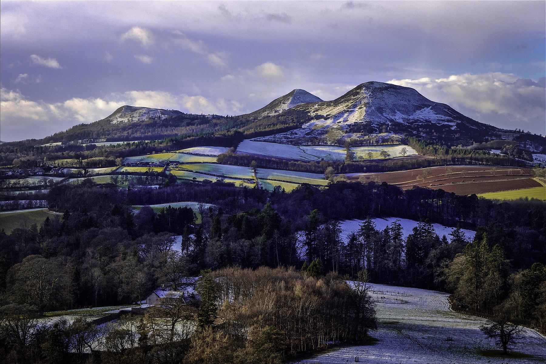 Scott's view, Eildons, Melrose