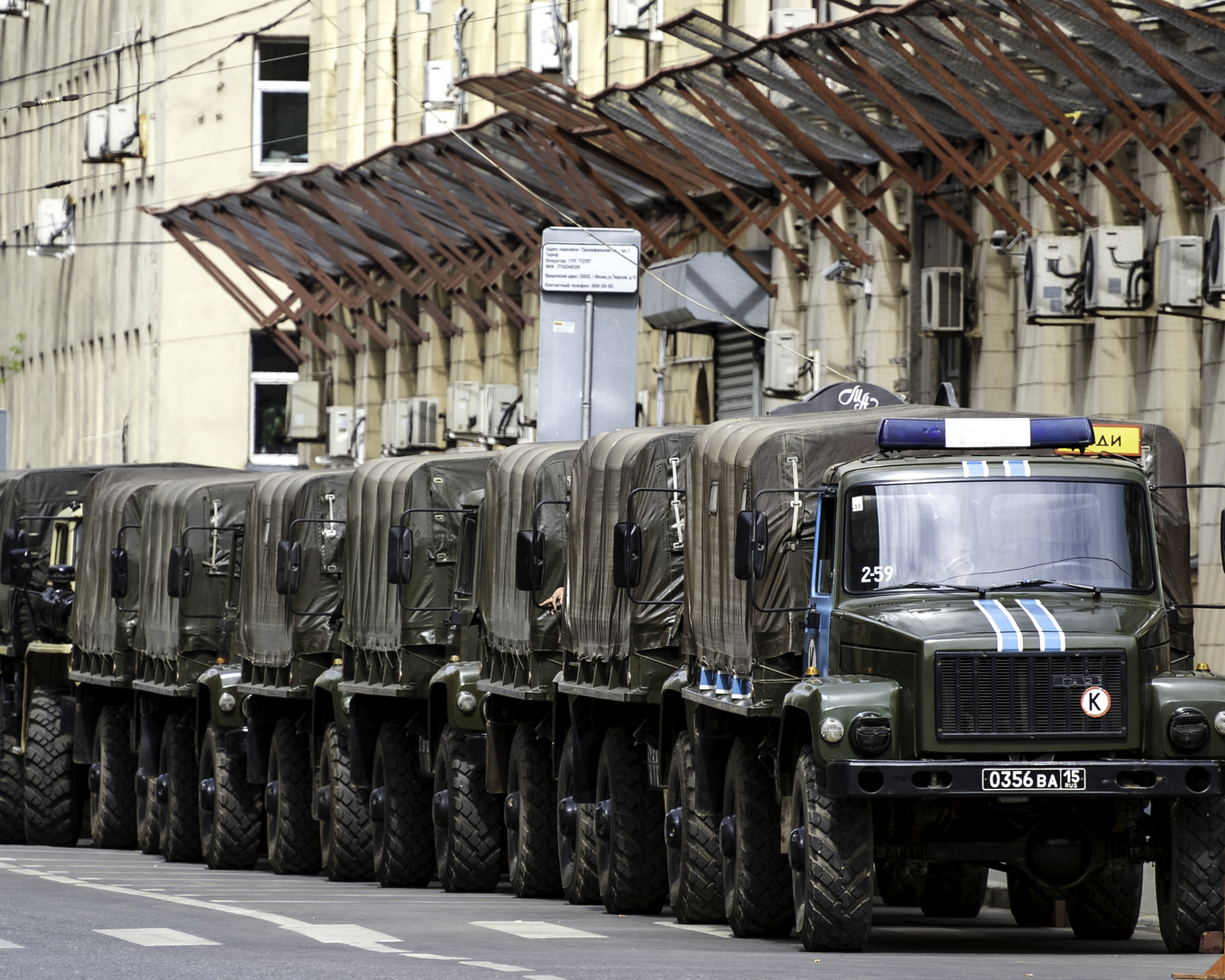 Strategy-31 for Freedom of Assembly (Not Permitted): Uncivil Response, Triumfalnaya Square