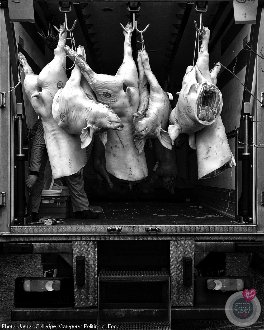 This is my observance at the altar of pork butchery: these little Scottish piggies went to market, having made the greatest sacrifice of all...