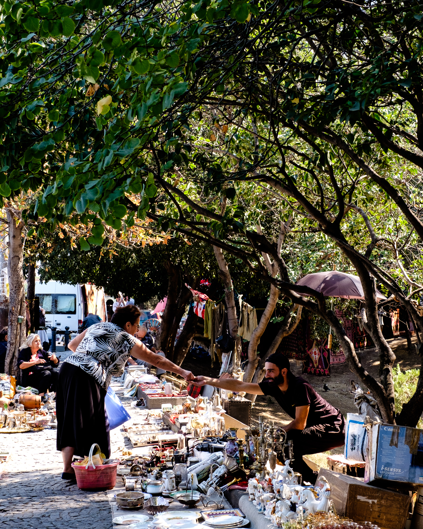 Dry Bridge Market, Tbilisi