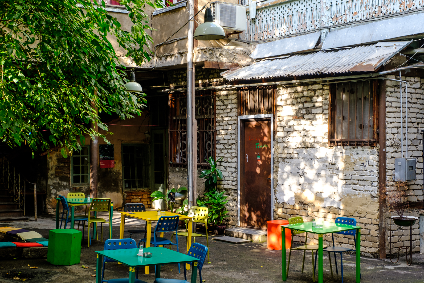 Ezo: farm to table - Set in a courtyard, bordered by a verandah, the casual ambience belies a dedication to traditional food, impeccably prepared and presented.