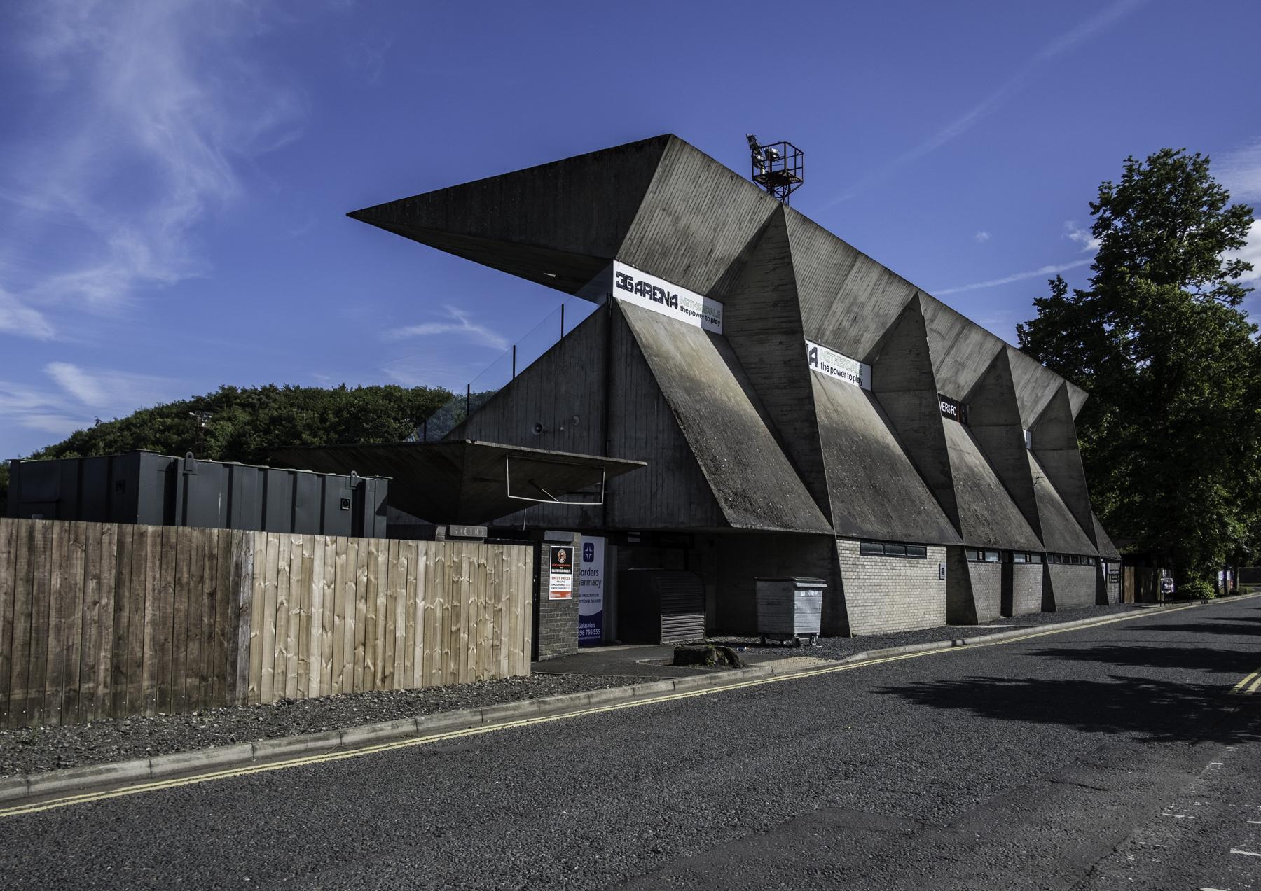 Gala Fairydean FC Stand 1964