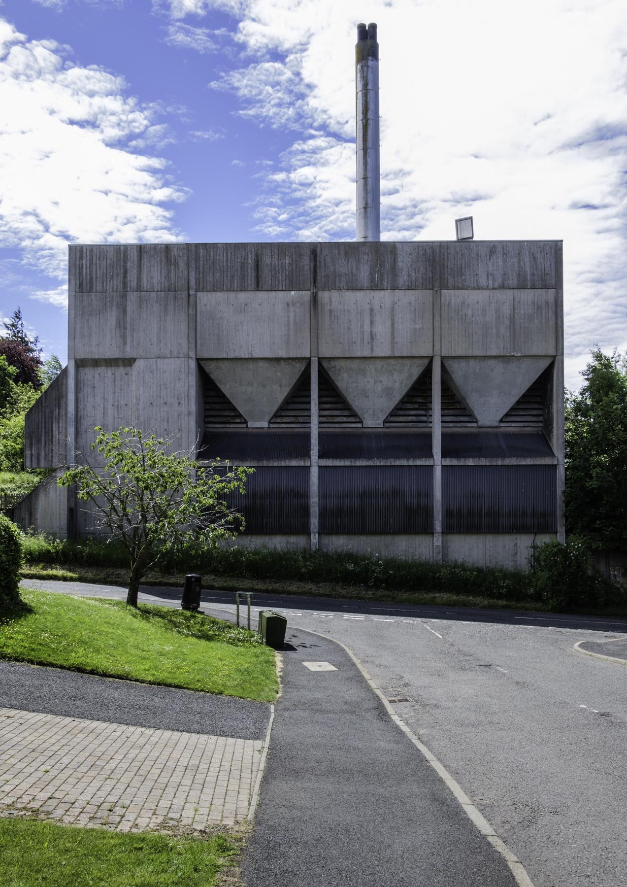Dingleton Boilerhouse 1977