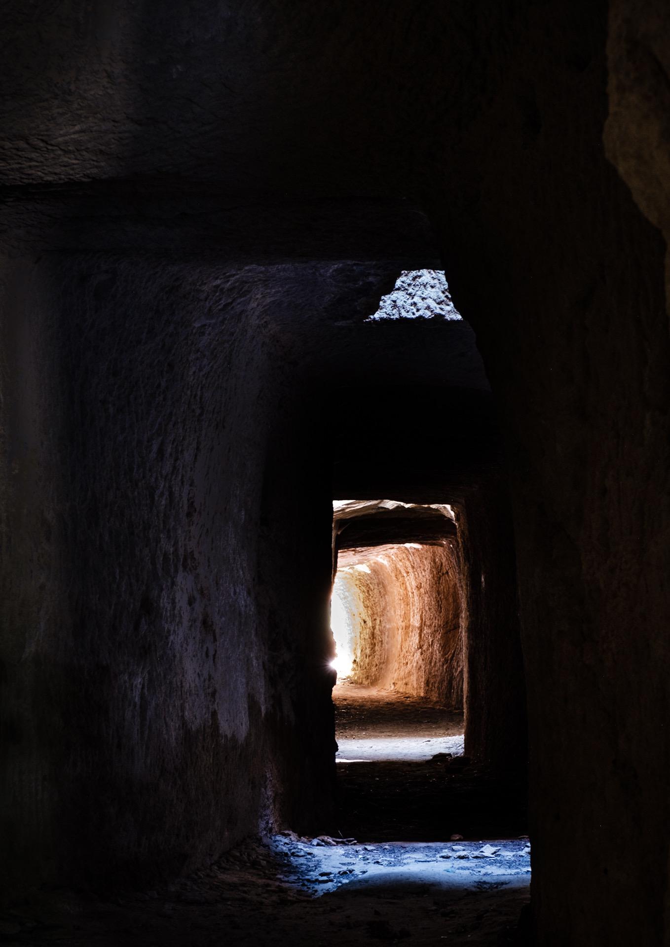 le tunnel des Canterelles