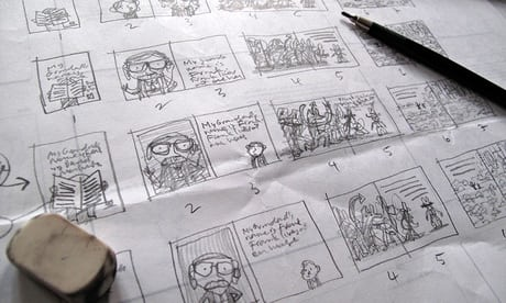 Storyboard for The Frank Show
