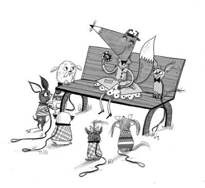 Foxy DuBois in Foxy Tales