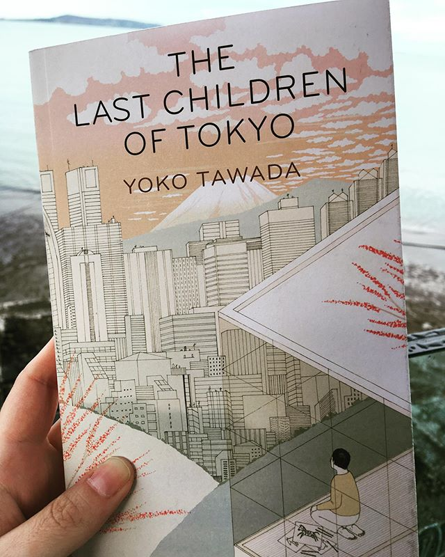 Current #WITmonth read: The Last Children of Tokyo by Yoko Tawada, translated by Margaret Mitsutani, cover illustration by Harriet Lee-Merrion. 🇯🇵 #readwomen #currentlyreading #bookstagram #translatedfiction