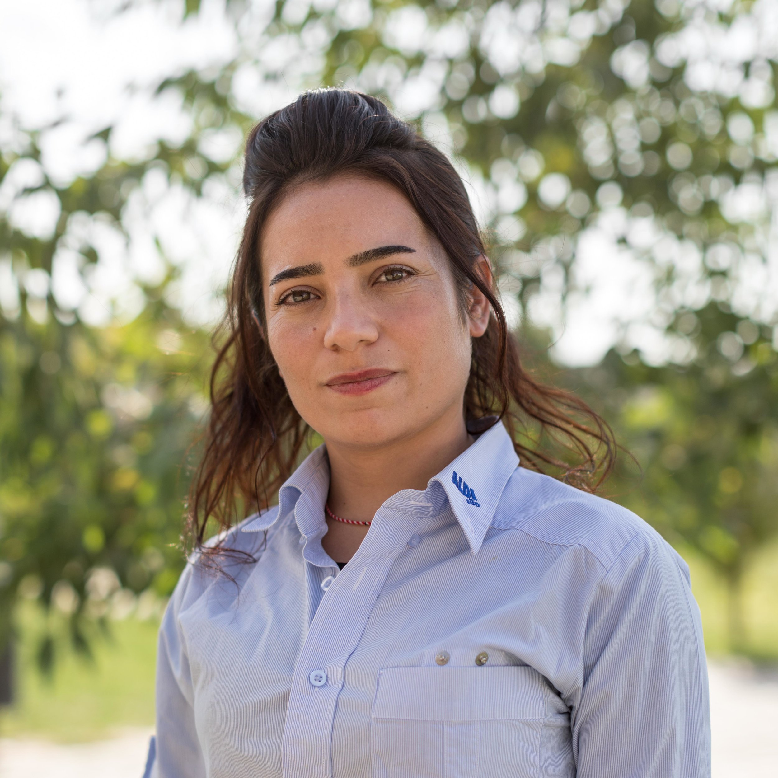 Bayaz Faris - Social CoordinatorBayaz has been a community volunteer with the Lotus Flower since December 2016. She recently applied to the English Department at Duhok University and has been conducting English languagecourses, literacy courses, and awareness sessions for women and girls at the Women's Centre. Prior to the Lotus Flower, Bayaz survived ISIS's attacks with her family and friends. She spent horrible period on Sinjar Mountain until reaching a safe place.