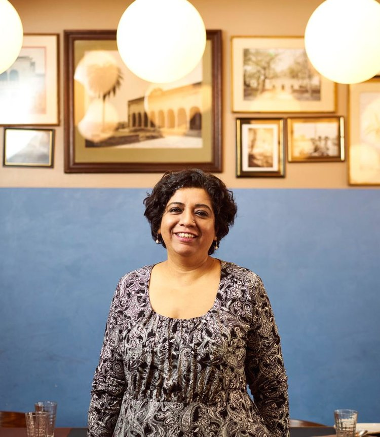 Asma Khan, founder of the Darjeeling Express