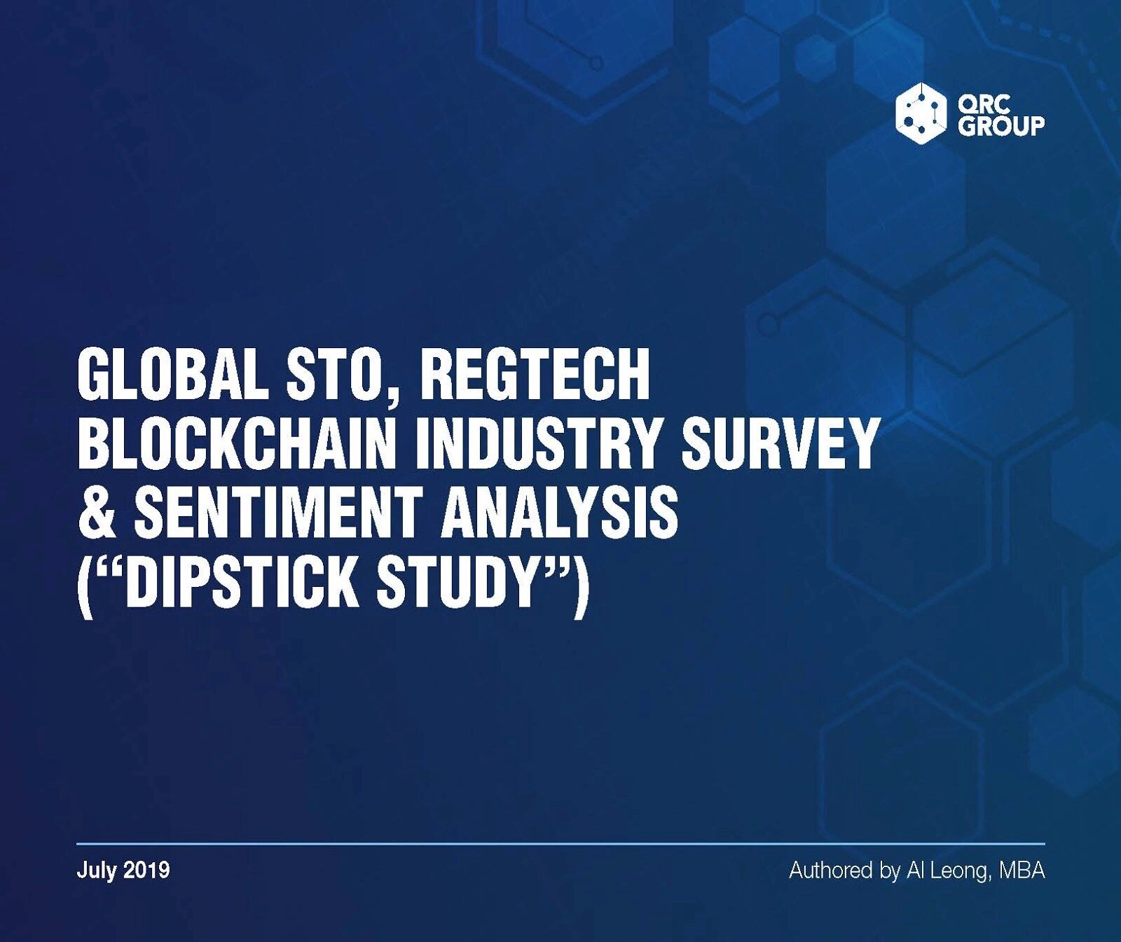 Read the Latest Global STO and Blockchain Industry Report
