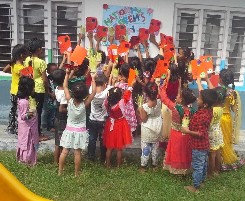 National Children's Day, Nepal House. 2017