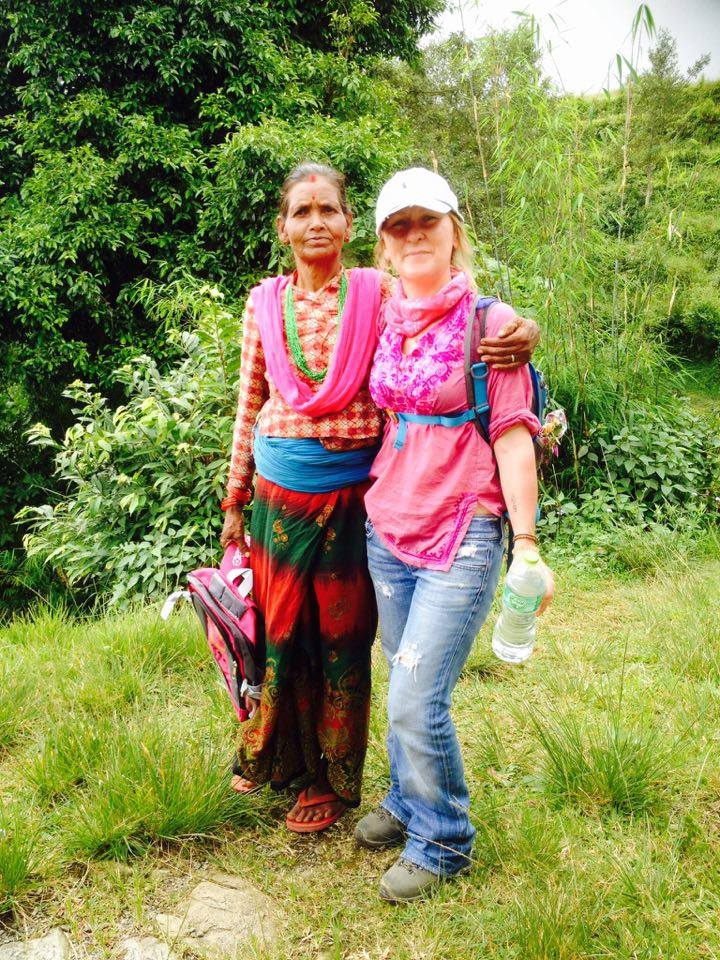 Outreach work in Kaski District, Nepal. 2016.