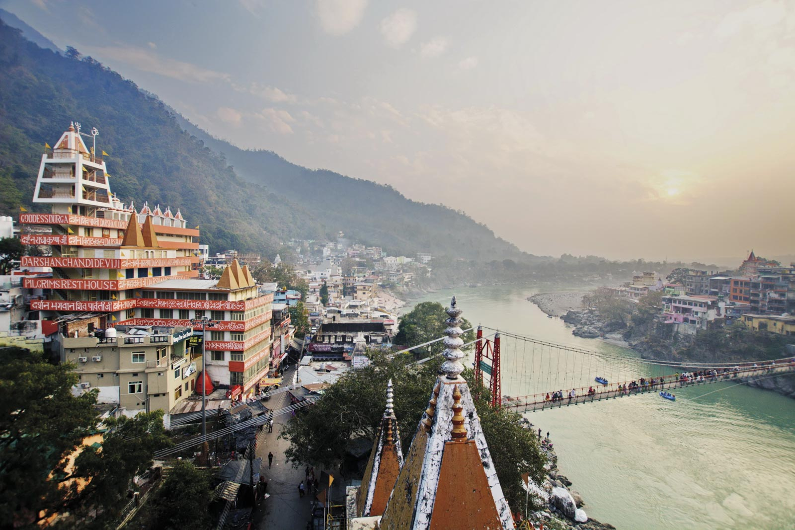 Rishikesh, one of the great homes of yoga
