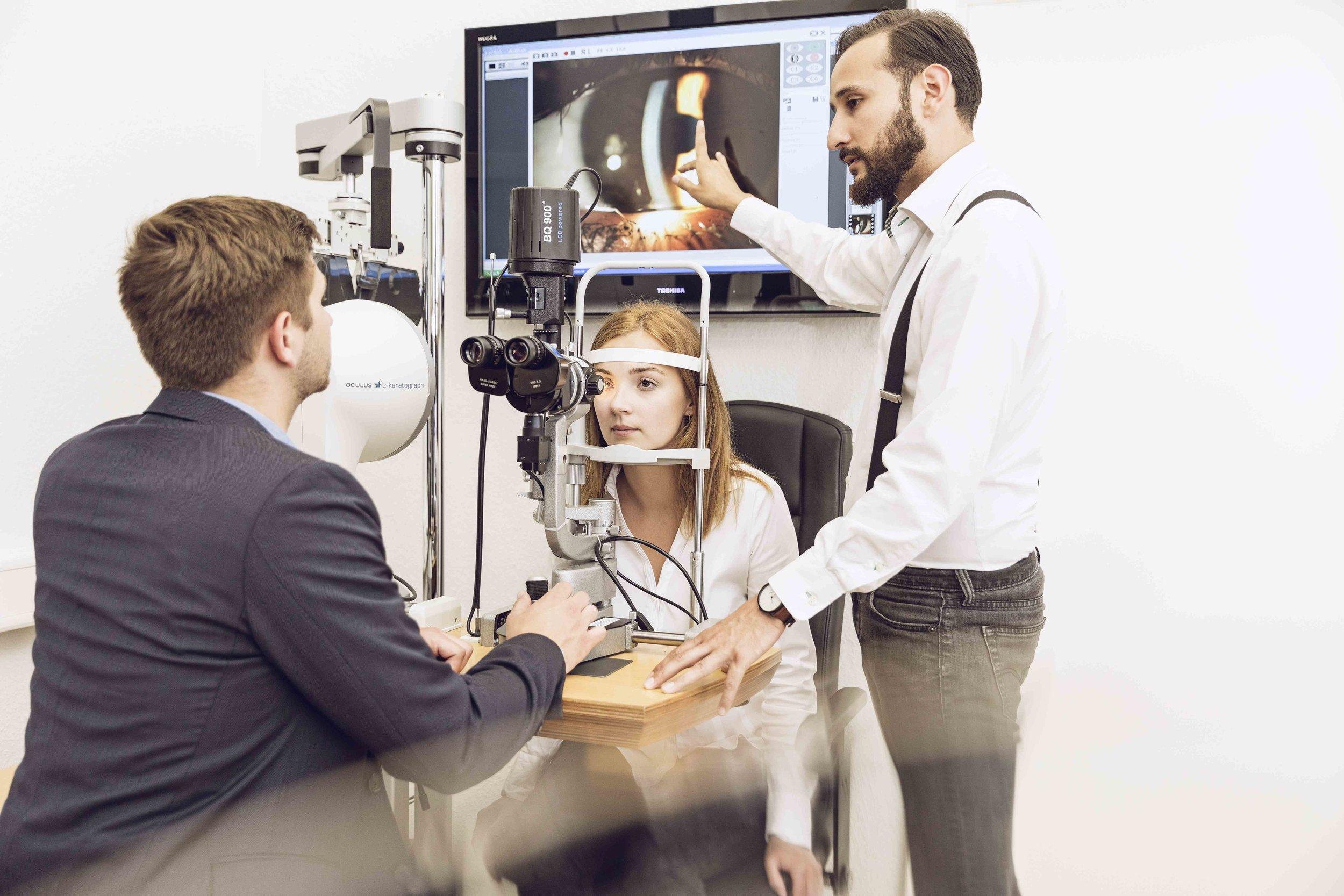 Bachelor of Science Augenoptik und Optometrie - → Für Augenoptikergesellen/innen→ Berufsbegleitend oder Vollzeit→ Studienstart 1. Semester: 21.10.2019
