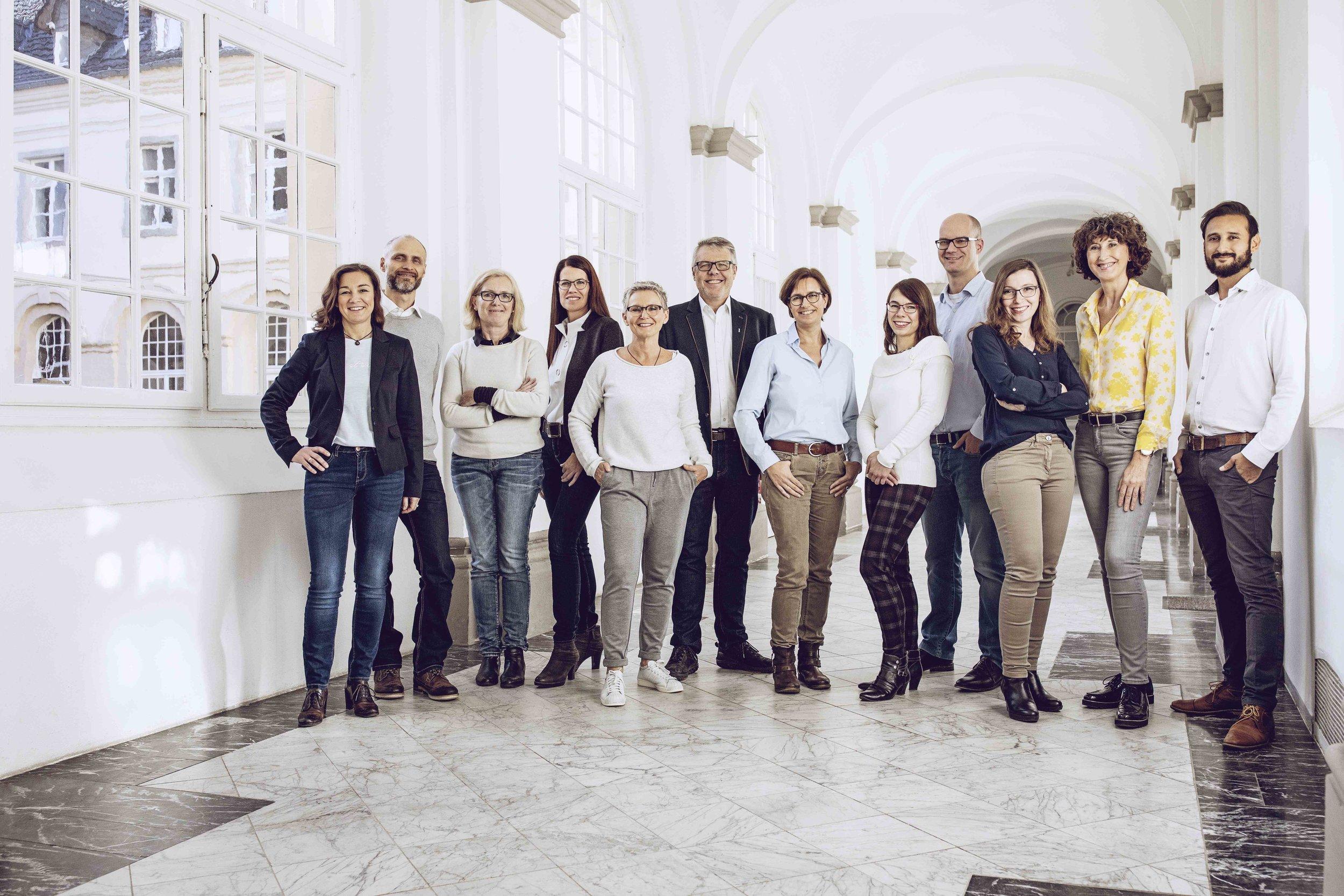 Team der Akademie der Augenoptik