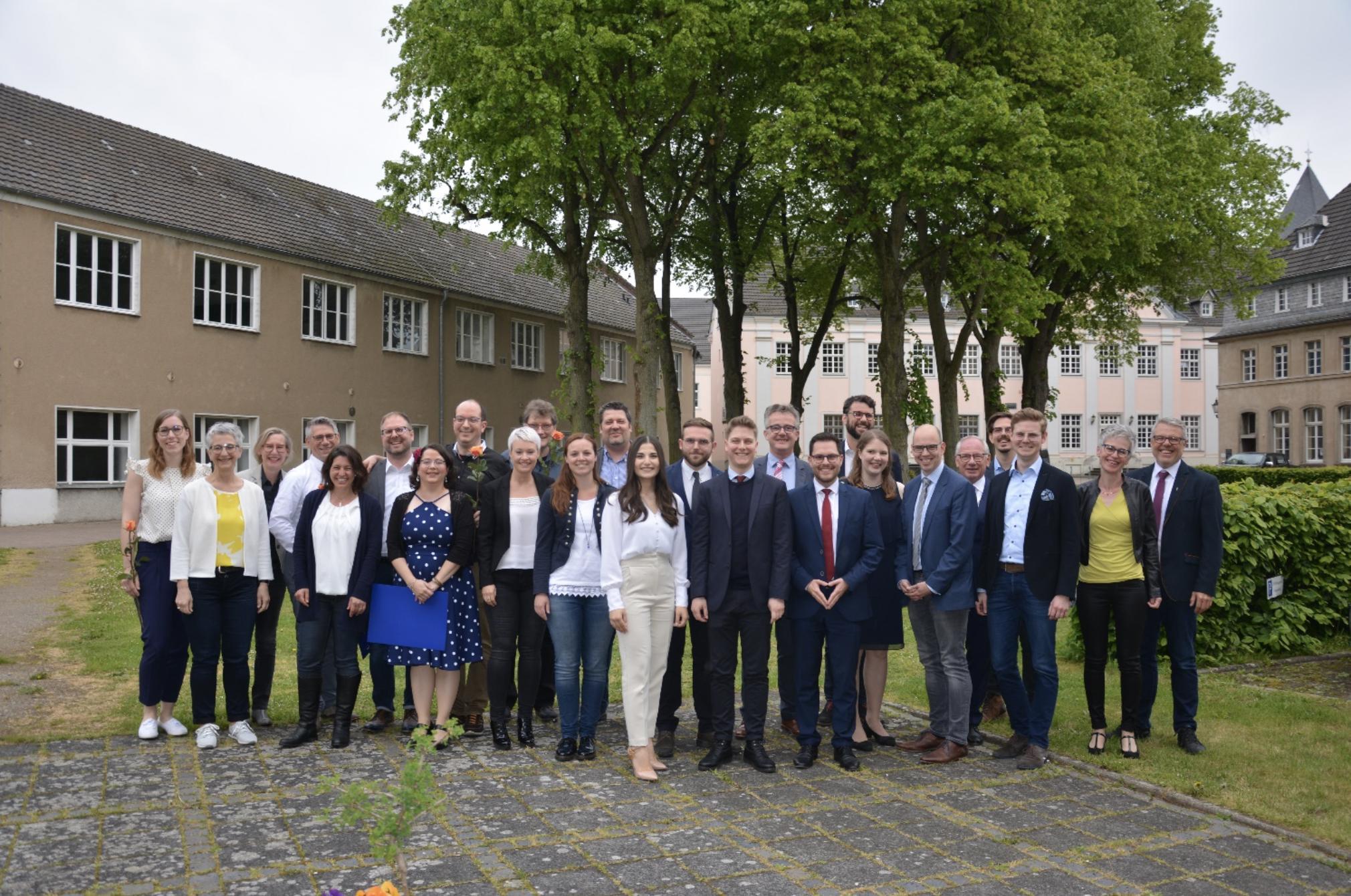 Absolventen Optometristen und Bachelor FH Aachen und Akademie der Augenoptik