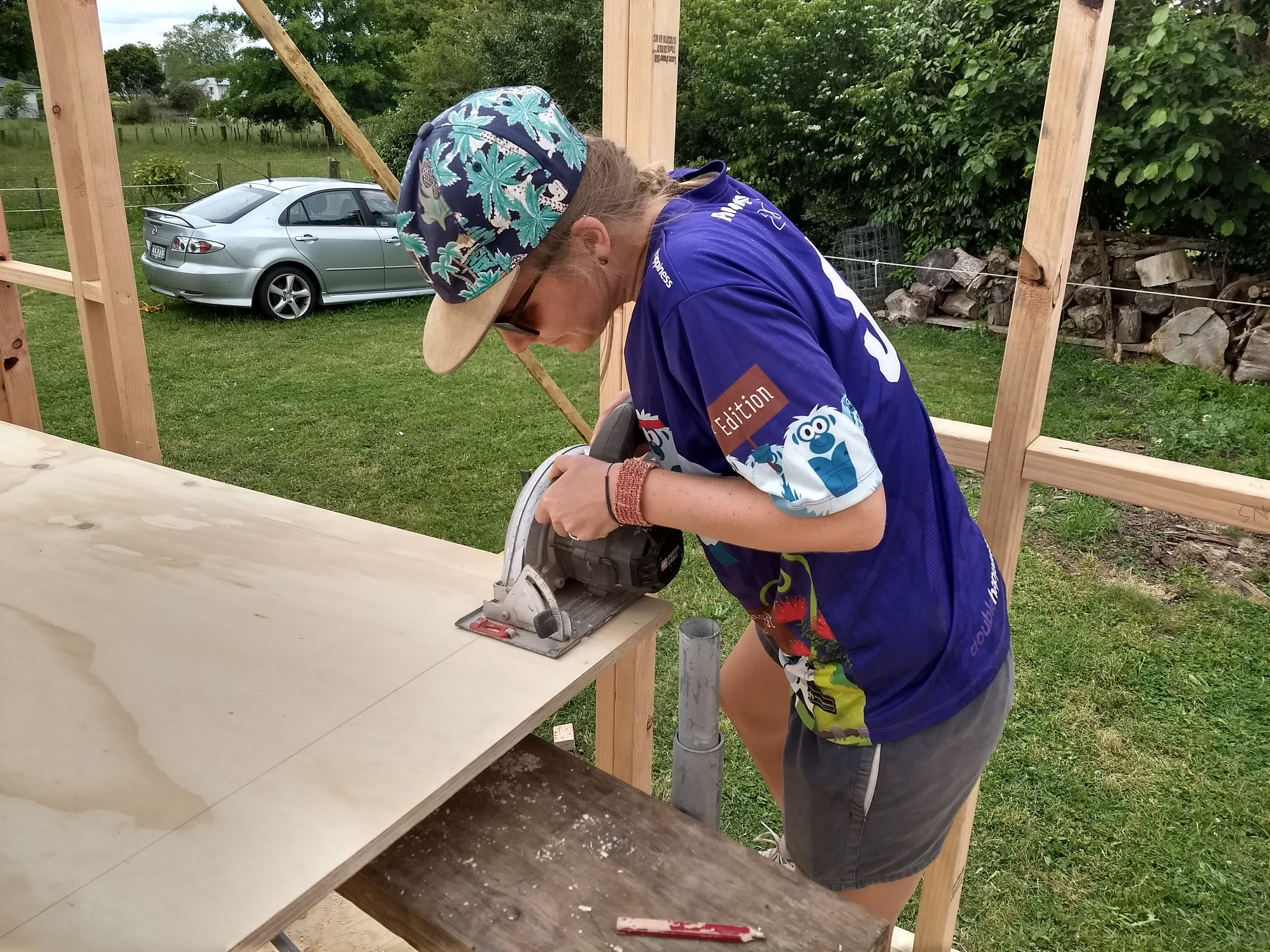 ... and the skillsaw!