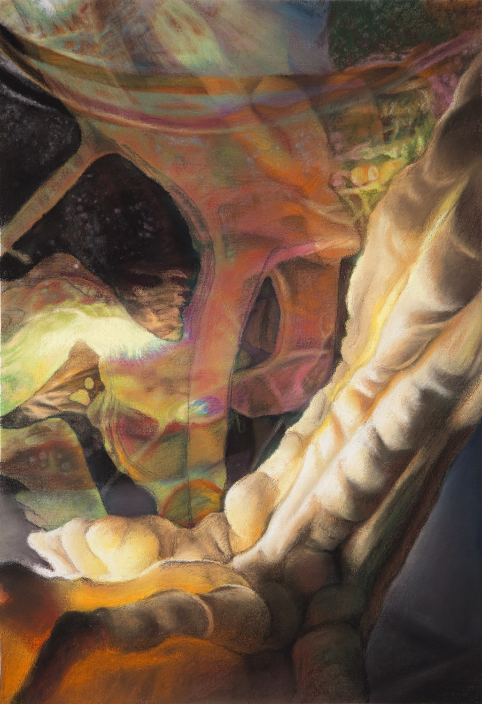 Untitled, 13x19, pastel