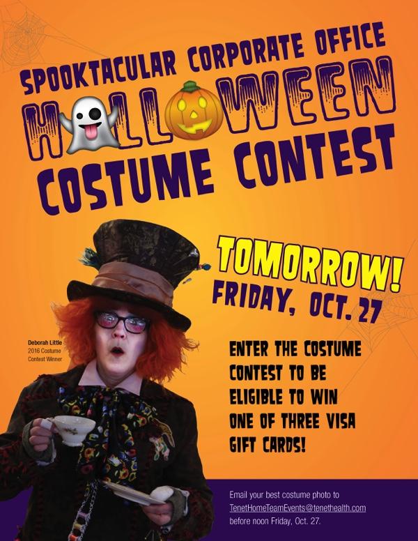 Costume Contest Email