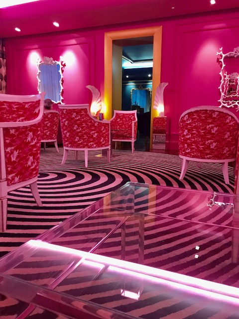 The Pink Lounge at the G Hotel