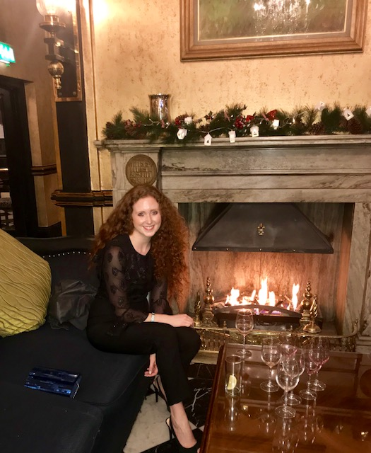Wine and catch ups at the Meyrick Hotel which is a gem in Eyre Square