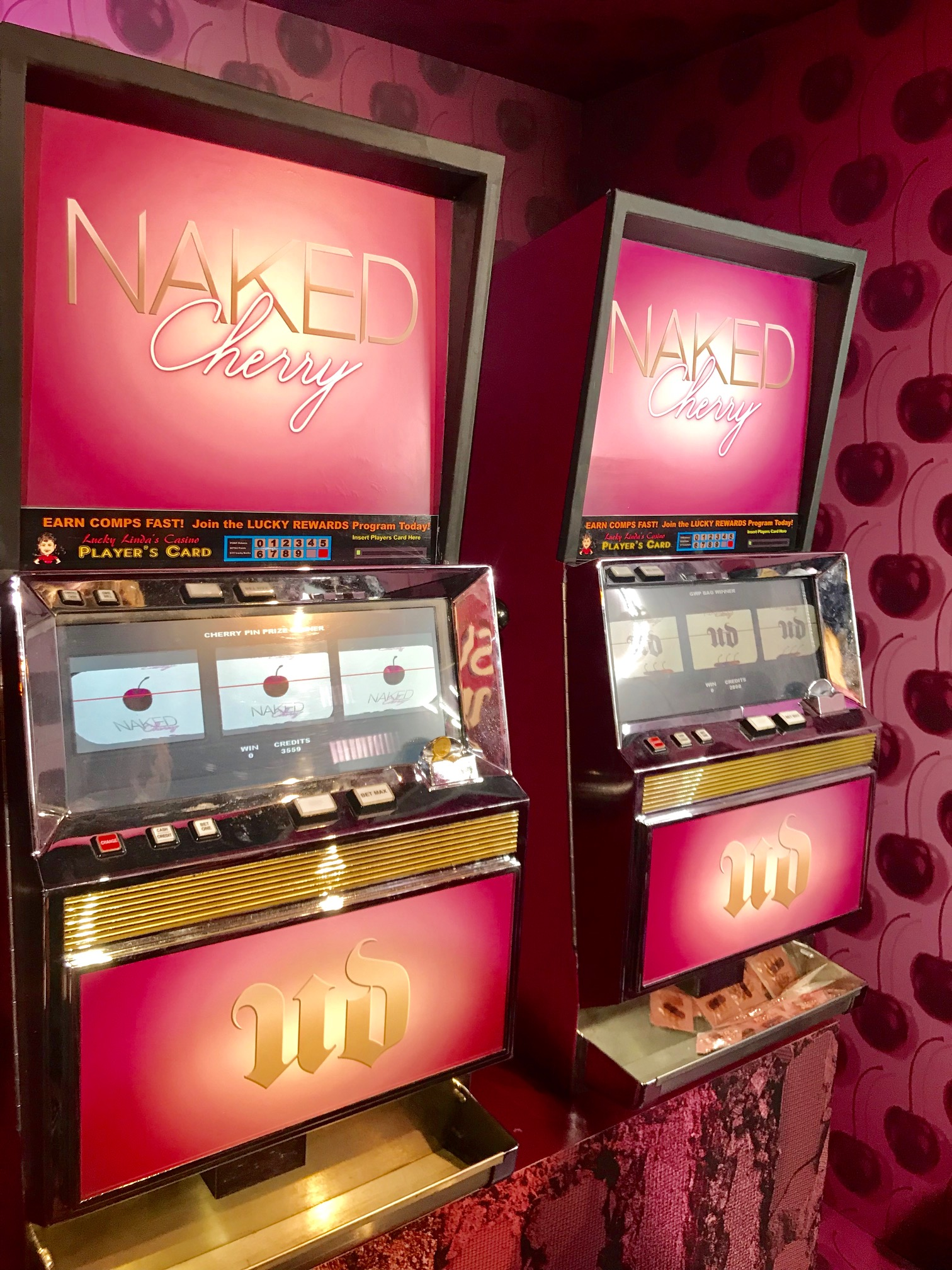 Urban Decay Slot Machines with the best prizes!