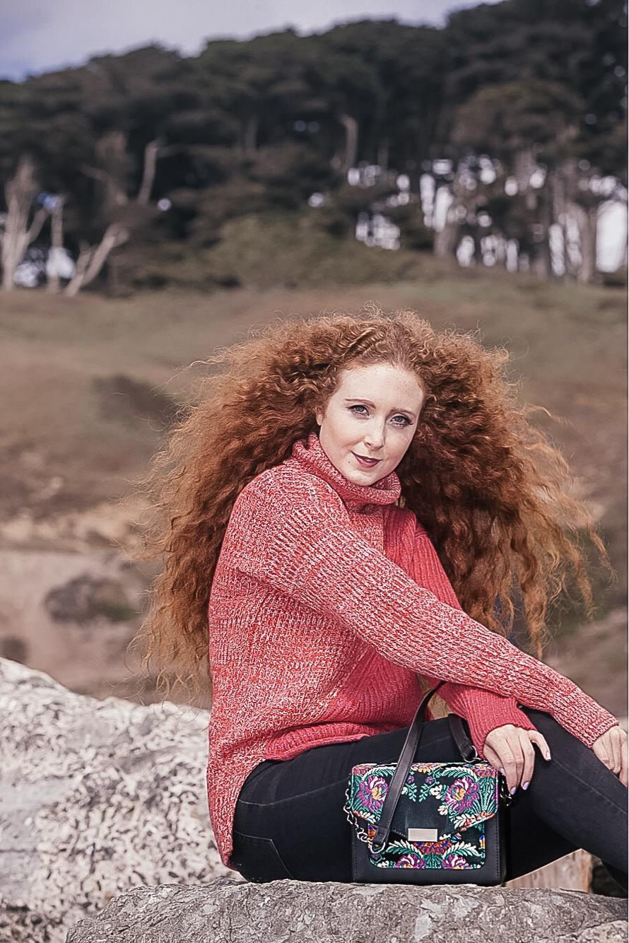 Lorna Ryan San Francisco Blogger Model Fashion Post Colorful Knits