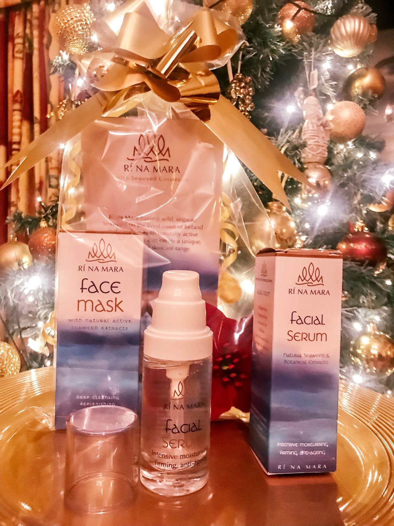 Using Christmas time as pamper time with these products
