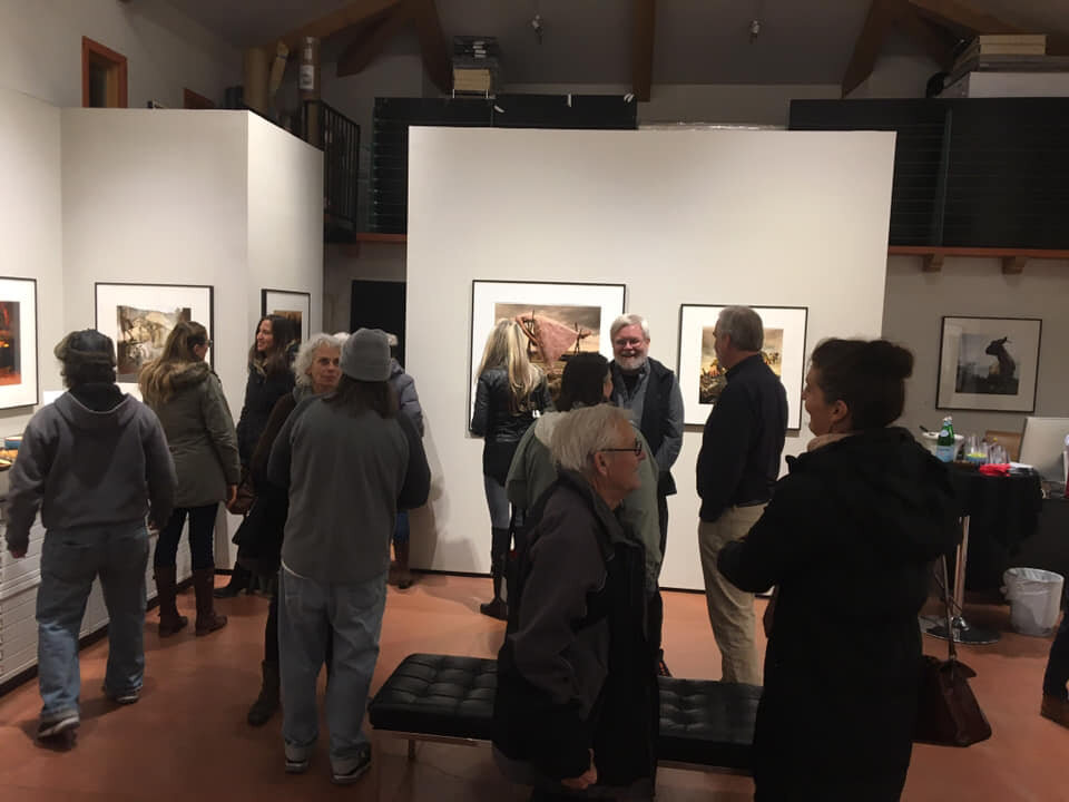 Photo-eye ExhibitionOpening - Thanks Anne R. Kelly, Juliane Worthington, and Rixon Reed at photo-eye gallery for a wonderful Hearts and Bones opening on display through February 16. I appreciate your support!