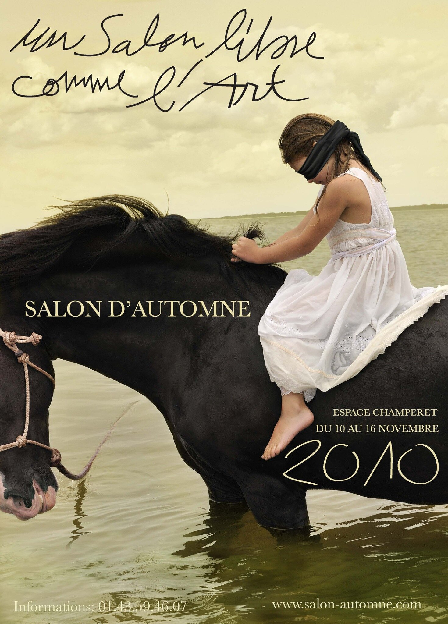 Salon d'Automne Catalog of Posters - Marwari Stallion #3 was used to advertise the 2010 Salon d'Automne and now is included in the catalog of salon posters and artists who have exhibited since 1903. The catalog will be released on October 9, 2019 at the Vernissage located at Champs Elysess, Place George Clemenceau at the 2019 Salon d'Automne.