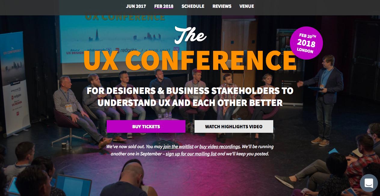 出典: The UX Conference UK