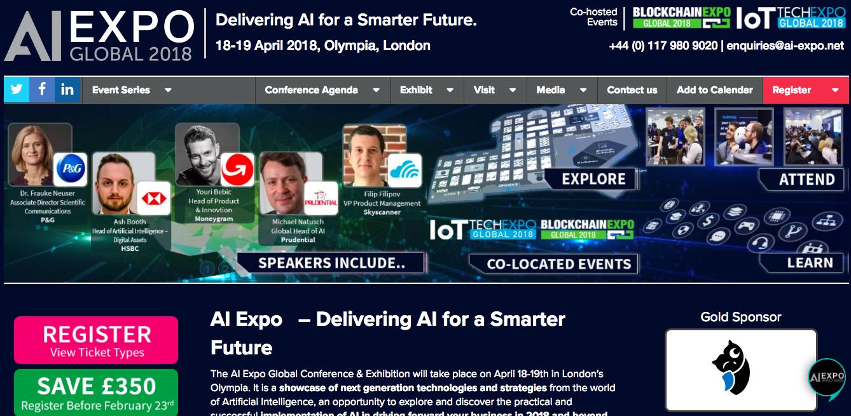 出典: AI Expo Global 2018