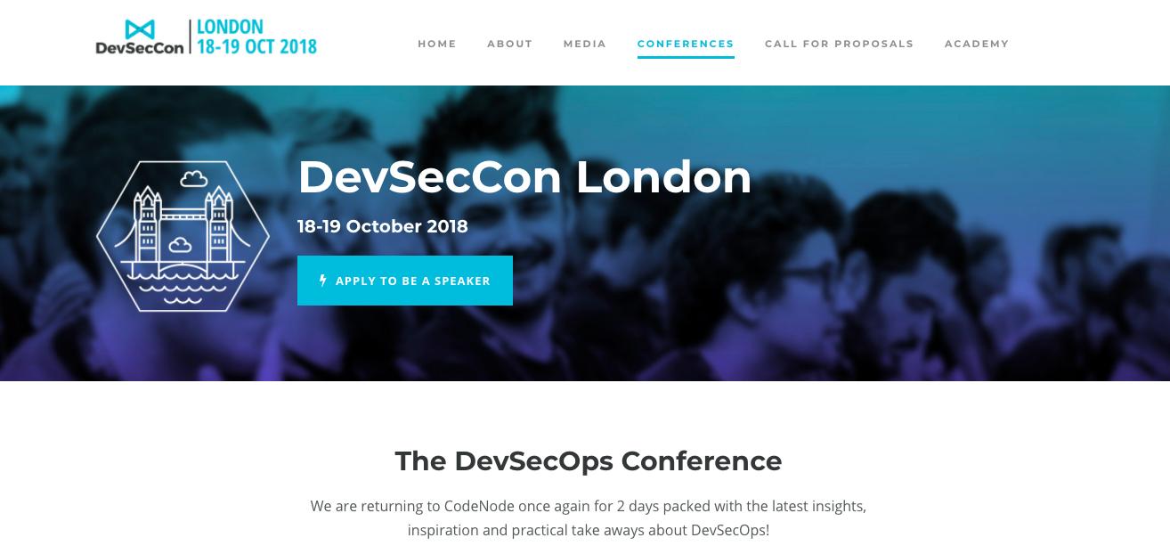 出典: DevSecCon London