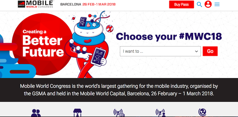 出典: Mobile World Congress