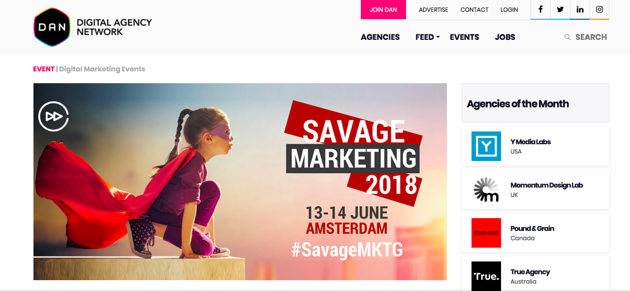 出典: Savage Marketing 2018