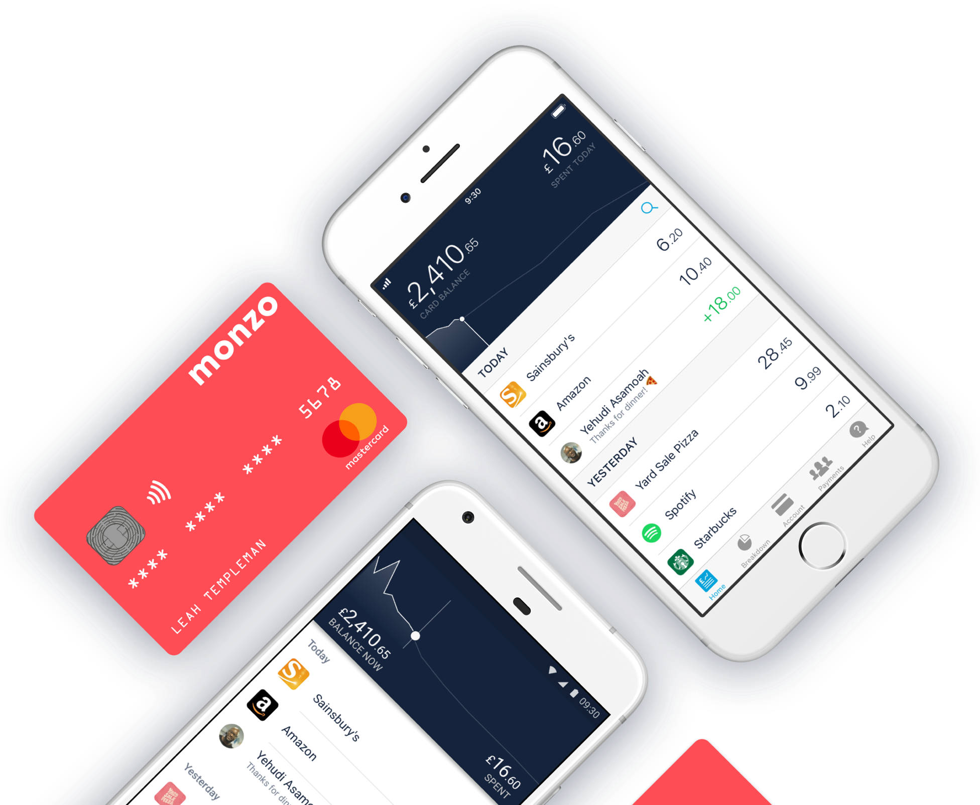 出典: https://tech.eu/brief/chasing-revolut-london-based-digital-bank-monzo-poised-to-raise-150-million-at-a-1-5-billion-valuation/