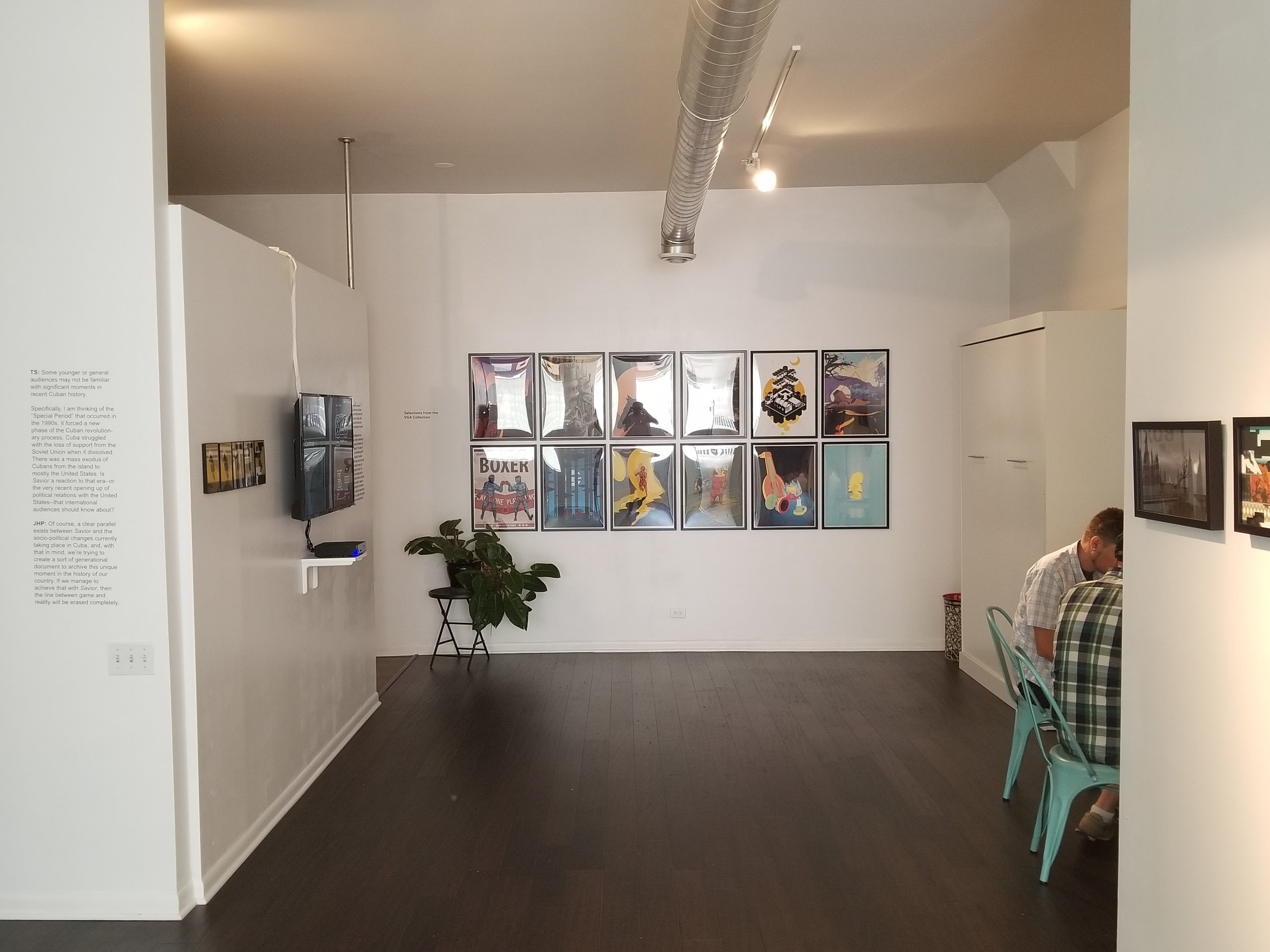Inside the Video Game Art Gallery